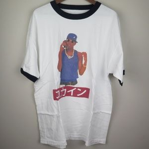 Master P No Limit Coke Magic Japan Hip Hop Rap Tee